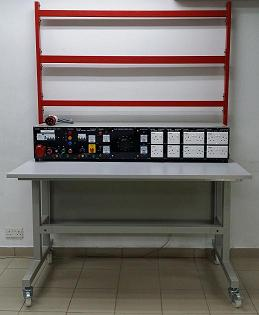 Workstation With Power Console  EM-30-16-03-03