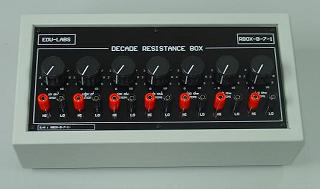 Decade Resistance Boxes RBOX Series